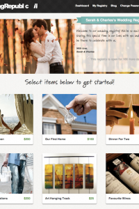 {SBW Sponsored Love} A New Kind Of Wedding Registry Where You Choose The Things Your Truly Want