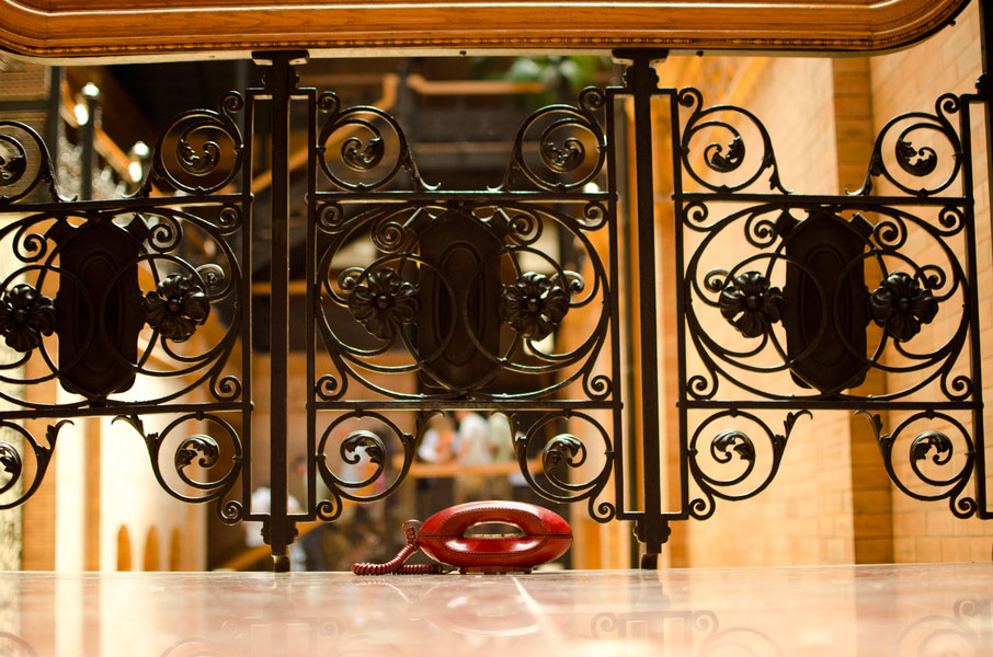 Engagement Love In The Form Of Vintage Photographer At The Bradbury Building   Photograph by The Big Affair