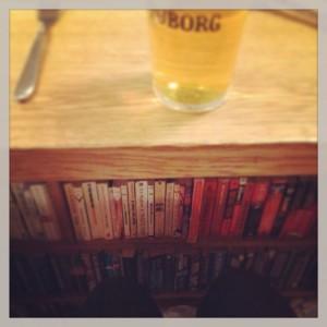 Landromat Cafe Light Reading At The Bar Reykjavik