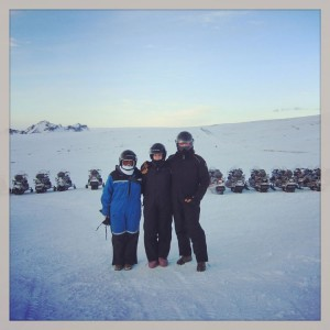 Mountaineers of Iceland Pearl Golden Circle Tour Family Shot