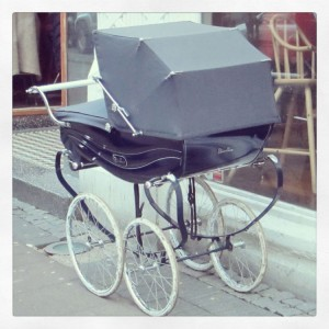 Old School Baby Carriage