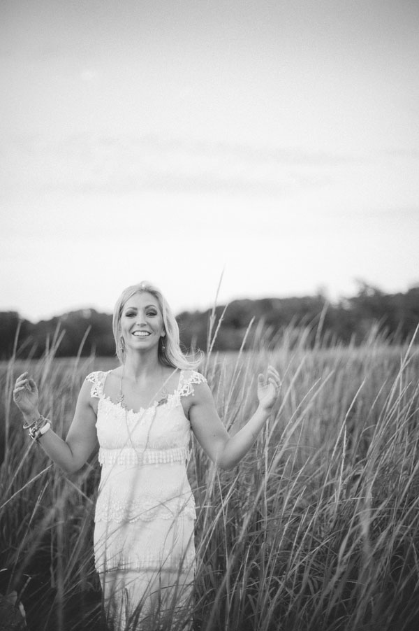 Salt Water Taffy Infused Sophisticated Beach Wedding   Photograph by Christina Lilly Photography