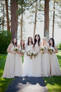 Soft Romantic Vintage Wedding Juxtaposed Against The Strong Nature That Surronds Lake Tahoe