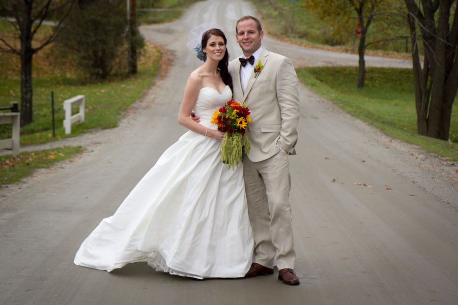 Gorgeous Fall Foliage Wedding In Waitsfield Vermont Mad River Valley | Photograph by Sarah Cocina Photography | Storyboard Wedding