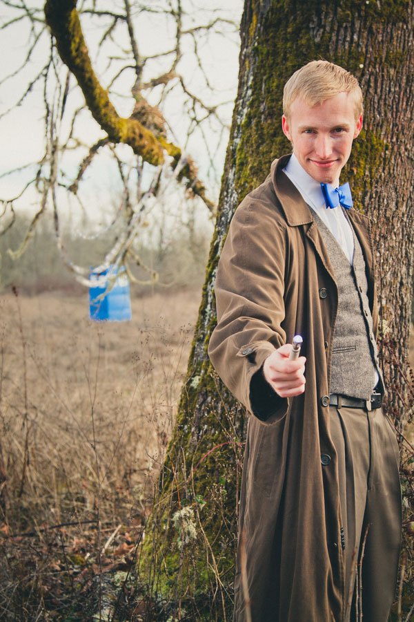 Doctor Who Tea Party Engagement Session   Photograph by MegganJoy Photo