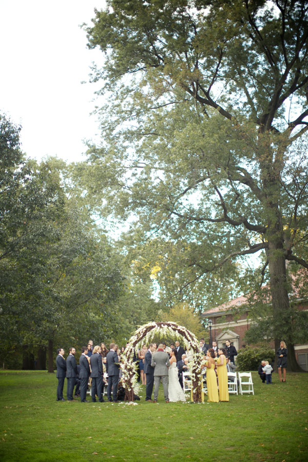 Fall Prospect Park Picnic House Brooklyn Wedding | Photograph by Weddings By Two