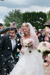 A Proper English Wedding Filled With Soft Roses And Masterful Music