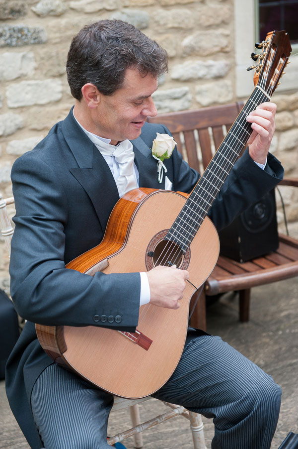 Proper English Wedding Filled With Soft Roses And Masterful Music | Photograph by Weddings by Nicola