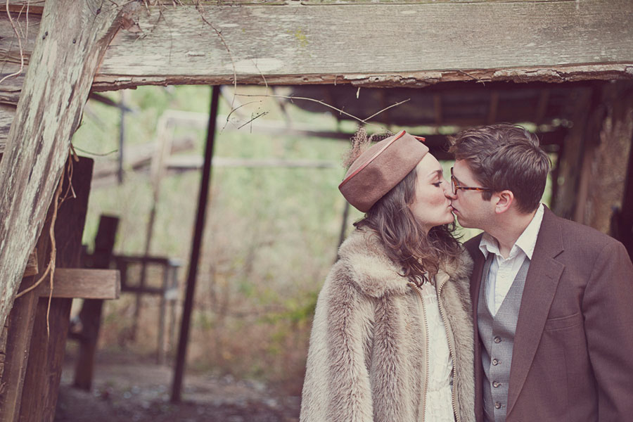 Outdoor Bohemian Love Story In This Artist Rendition Engagement Session  | Photograph by BPosh Photography