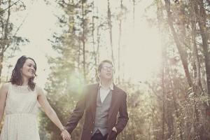 Lindsey_Zachary_Bohemian_Woodsy_Artist_Engagement_Session_BPosh_Photography_3-h