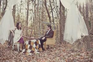 Lindsey_Zachary_Bohemian_Woodsy_Artist_Engagement_Session_BPosh_Photography_6-h