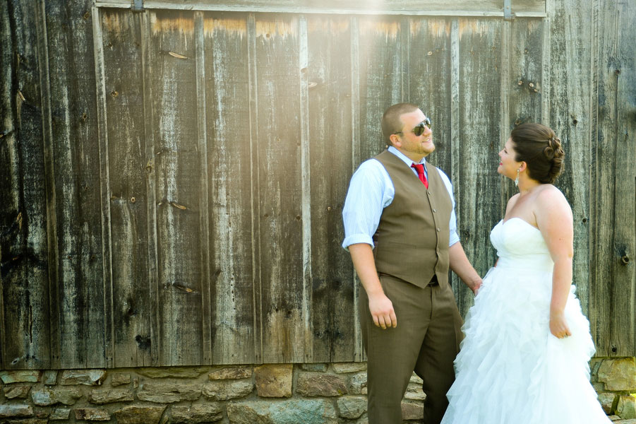 Vintage Carnival Infused Wedding With Rustic Touches At The Historic Union Mills Homestead | Photograph by Brenda Murphy Photography