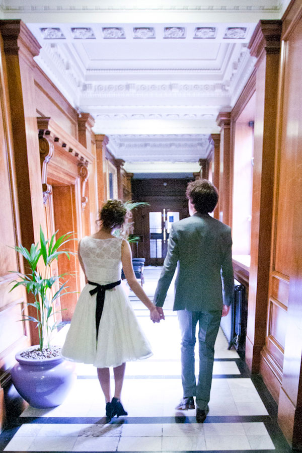 Intimate English Town Hall Wedding | Photograph by Esvy Photography  https://storyboardwedding.com/an-intimate-english-town-hall-wedding-crown-celebration-with-musical-notes-as-punctuation/