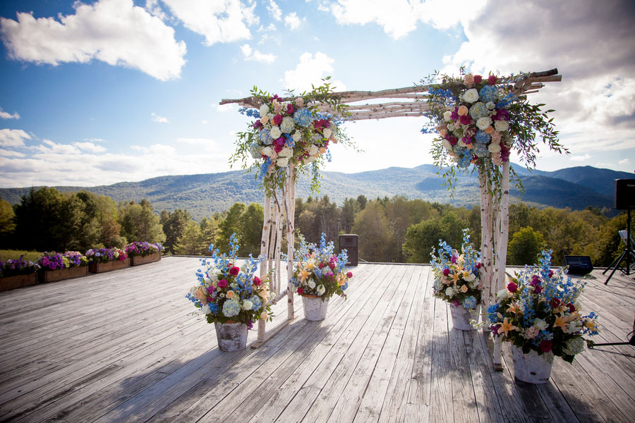 Wedding Meadow Dream In This Barefoot Tr Family Lodge Stowe Vermont Photograph By Kathleen Landwehrle