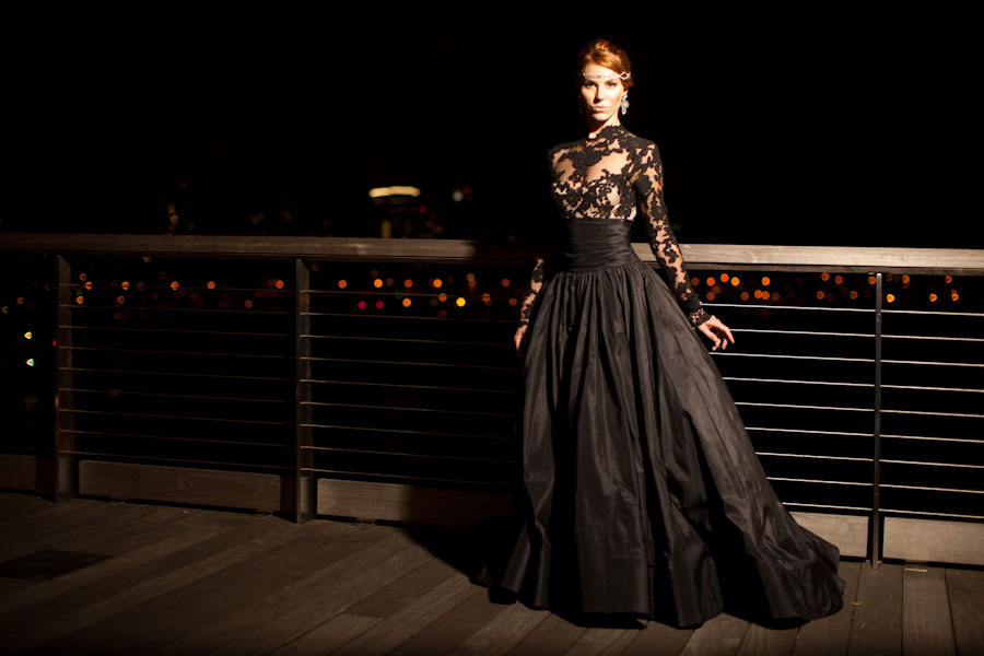 Queen Of The Night Elegant Black Wedding Dresses With Sophisticated Style