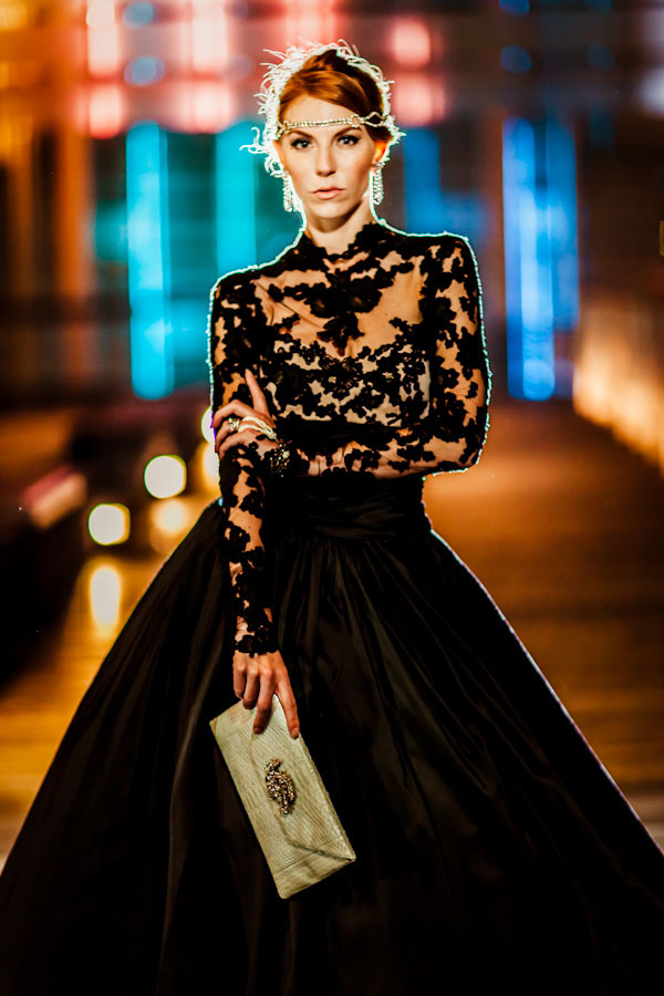Queen Of The Night- Elegant Black Wedding Dresses With Sophisticated ...