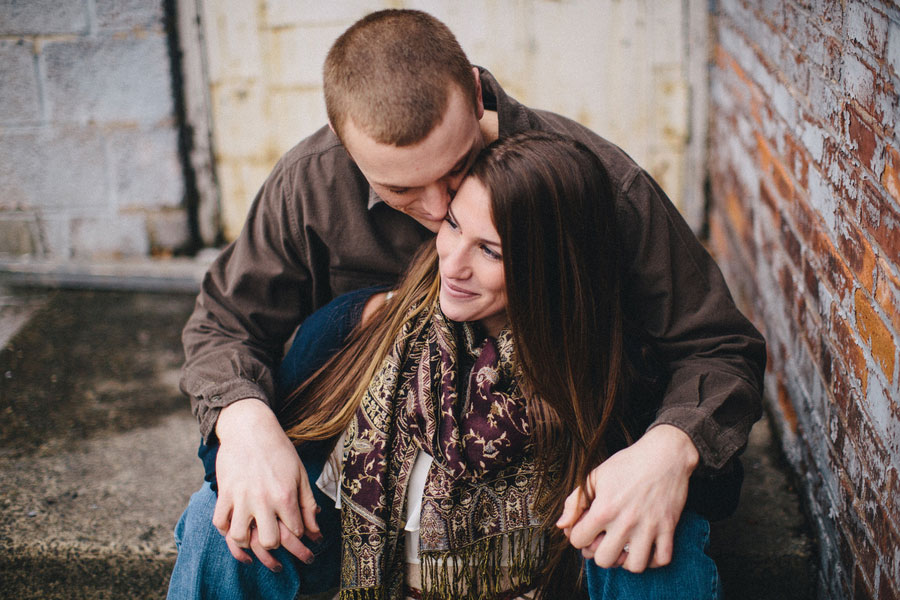 Rustic Patriotic Love Engagement Session | Photograph by Zen Photography