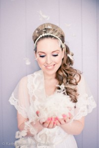 Dreamy Daytime Boudoir With A Touches Of 60s Retro And Free Falling Fe...