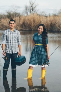 My Yellow Rain Boots- An Engagement Love Story While Fishing In The Sa...