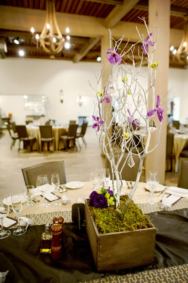 Unique Worship Inspired Cave Wedding With Purple Tones At The Wente Vineyards | Photograph by Gina Petersen Photography