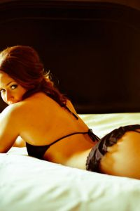 {SBW Warning:NSFWish} The Bare Derriere Boudoir In Black Lingerie &amp...