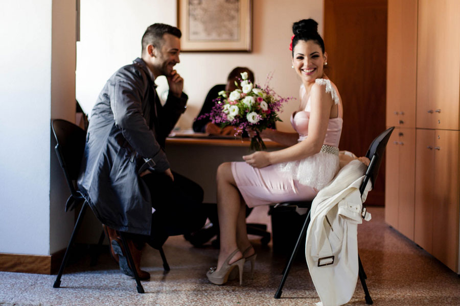 Romantic & Elegant Elopement Among The Venice Canals For This Worldly Greek Couple   Photograph by Luca Faz Photographer in Venice