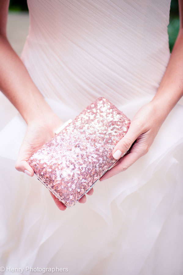 Champagne & Blush Sparkle For All To See In This Cambridge Multicultural Arts Center Wedding | Photograph by Henry Photographers