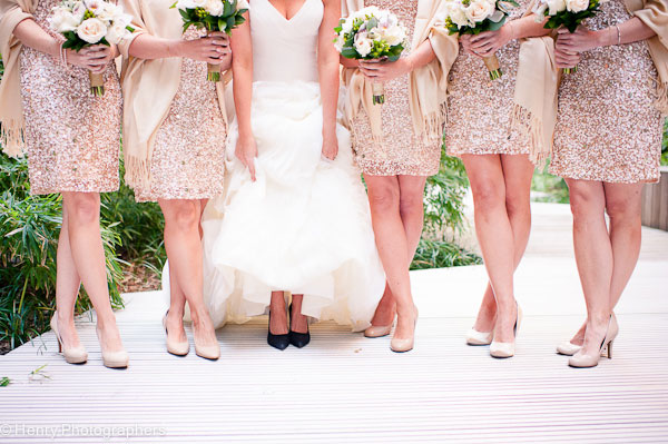Champagne Blush Sparkle For All To See In This Cambridge Multicultural Arts Center Wedding