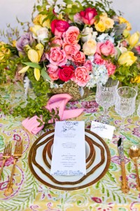 Vibrant & Captivating Impressionistic Era Watercolor Inspired Wedding