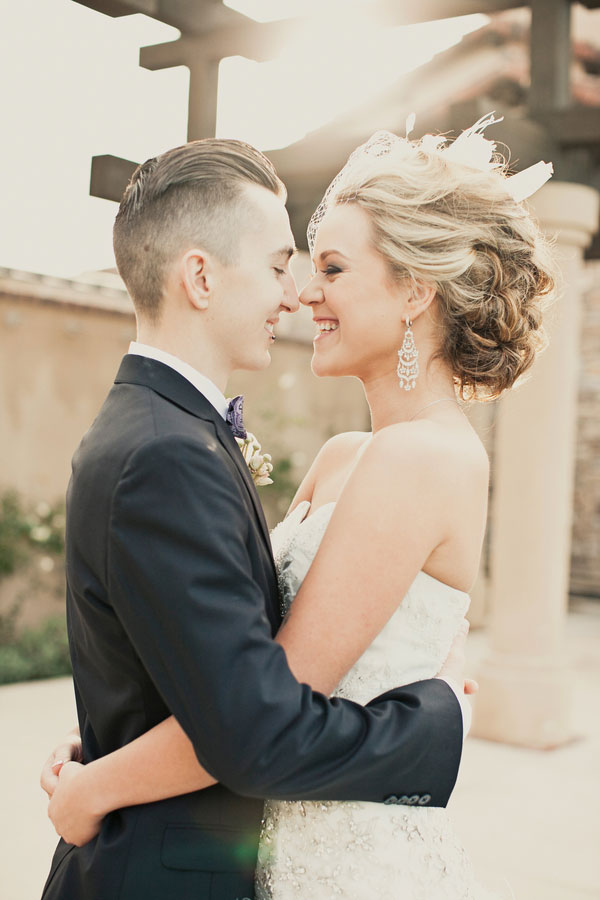 Gorgeous Romantic Punk Vintage Inspired Wedding In Soft Pastels & Ruffles | Photograph by Focus Photography