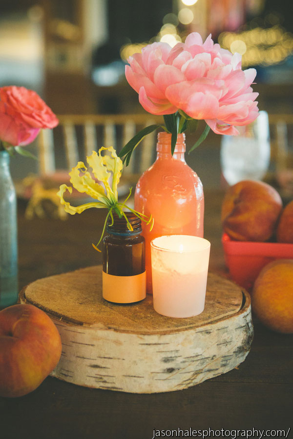 Georgia Peach Inspired Hues In This Rustic Industrial Wedding With Farmhouse Chic Sophistication