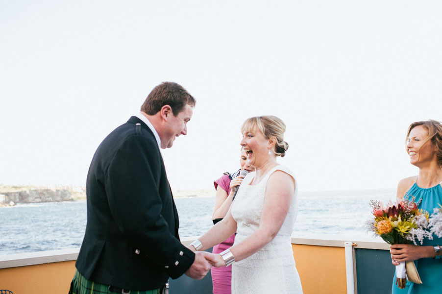 Chic Seaside Scottish Wedding Along Australia's Coogee Coast In Sydney With A Dash Of Cheeky Fun