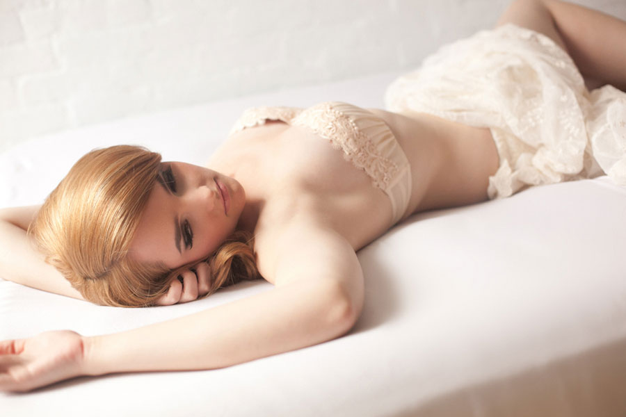 Soft, Sweet Feminine Boudoir With Girly Elements And Literary Touches   Photograph by Adorro Impressions Photography