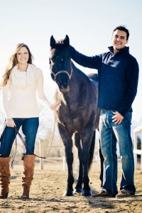 The Essence Of The Kentucky Derby In This Horse Loving Engagement Sess...