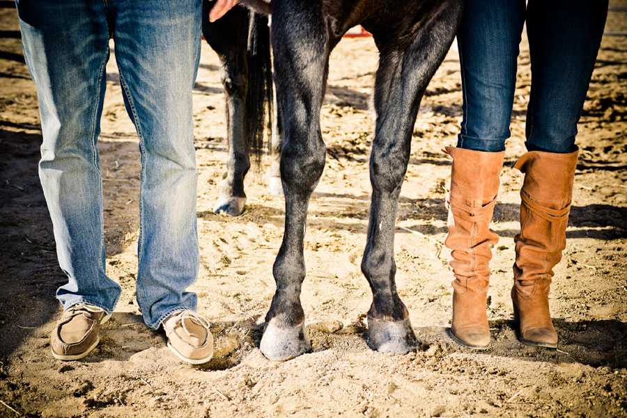 The Essence Of The Kentucky Derby In This Horse Loving Engagement Session | Photograph by Elevate Photography