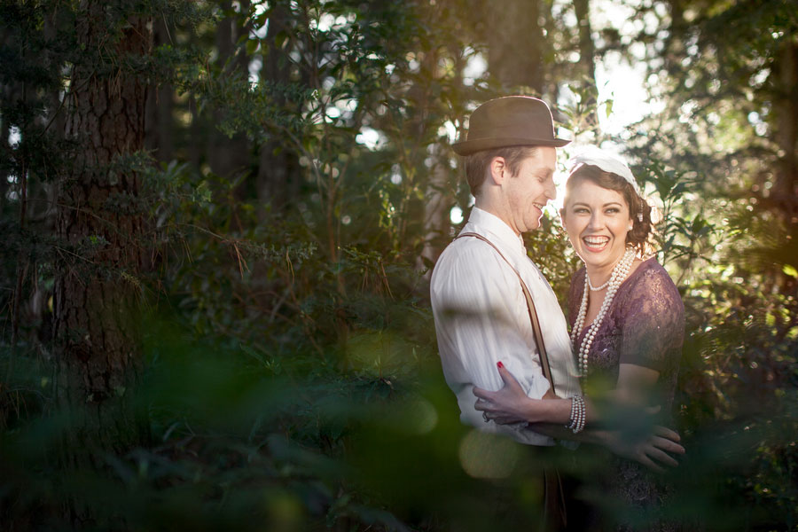 Vintage Travel Inspired Engagement Session With 1920
