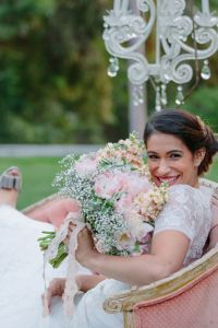 Sophisticated Bohemian Bridal Style From Floral Crowns, Bridal Headsca...