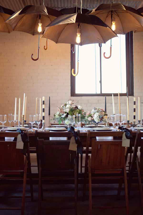 Whimsical Rustic Industrial Black & White Wedding Inspired By Five Stripes Tapers | Photograph by Zlata Modeen  Photography http://storyboardwedding.com/whimsical-rustic-industrial-black-white-wedding-inspired-by-five-stripes-tapers/