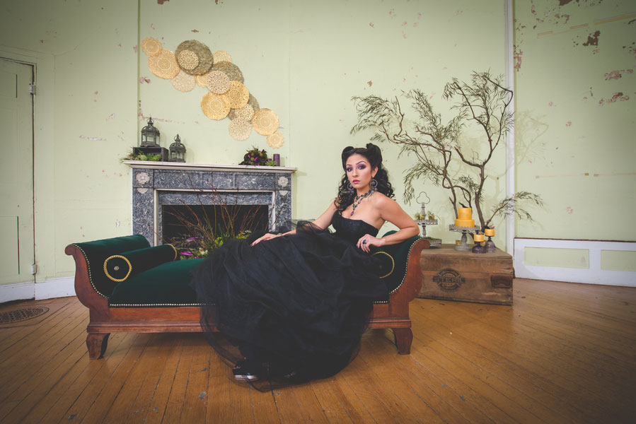 Disney Villainess Maleficent Wedding: Dark & Earthy | Photograph by BG Productions  See The Full Story At https://storyboardwedding.com/movie-inspired-disney-villainess-maleficent-dark-earthy-wedding/