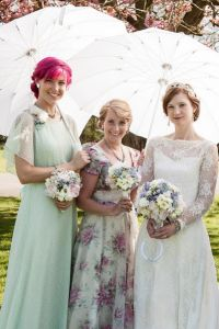 A Truly Whimsical Wedding With Genuine Vintage Touches & Quirky Ex...