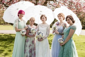 A Truly Whimsical Wedding With Genuine Vintage Touches & Quirky Expression In This Bristol Engla...
