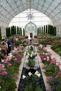 Sunken Garden at Como Park Zoo & Conservatory Plays Host To An Ear...