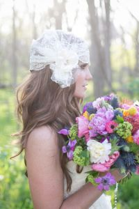 Falling In Love With Bridal Headpieces By The Yellow Peony