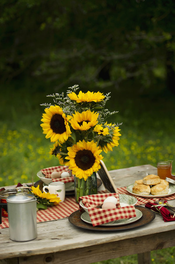 Summer Time Country Cute Farmhouse Engagement Session Complete With Baby Chicks & Sunflowers | Photograph by Melissa McCrotty Photography
