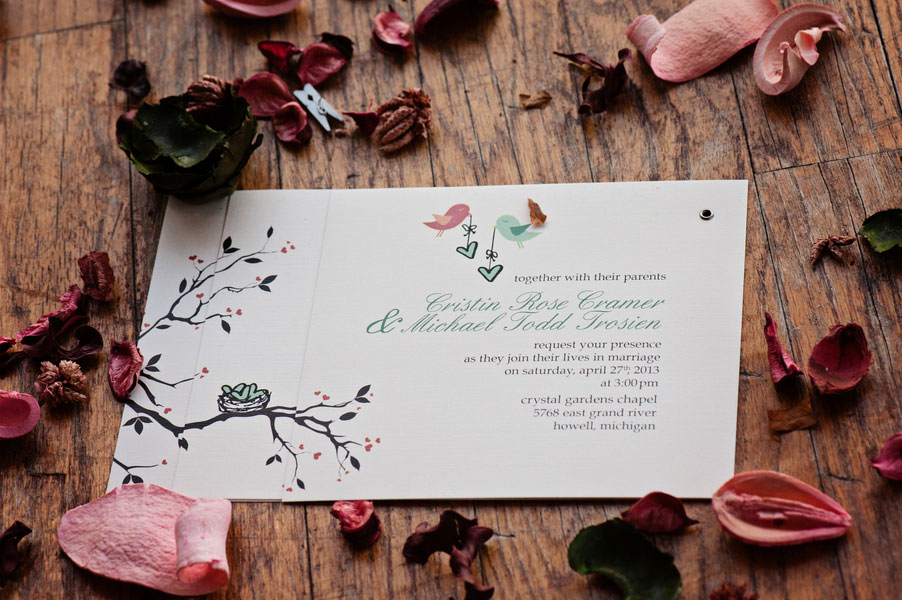 Whimsically Clever DIY Wedding With Personalized Touches At Everyone Corner   Photograph by Leah Moss Photography