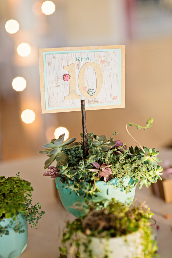 Whimsically Clever DIY Wedding With Personalized Touches At Everyone Corner | Photograph by Leah Moss Photography