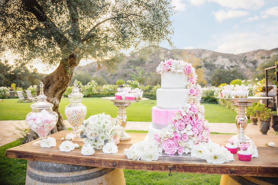 Wonderfully Luxurious Equestrian Loving Formal Wedding In Pink & White At Giracci Vineyards and Farms | Photograph by Allen Taylor Photography