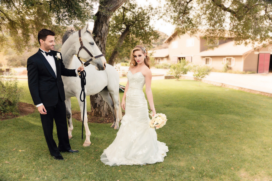 Wonderfully Luxurious Equestrian Loving Formal Wedding In Pink & White At Giracci Vineyards and Farms   Photograph by Allen Taylor Photography