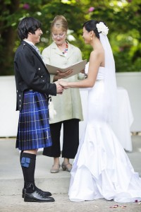 Cheeky Scottish Infused Garden Wedding In Australia's Dandenongs Ranges