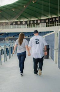 Surprise Proposal Engagement Session Infused With Baseball All Star Game Goodness